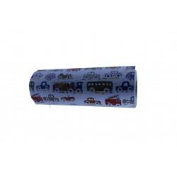 Papel de regalo infantil vehículos 31cm, tridecor