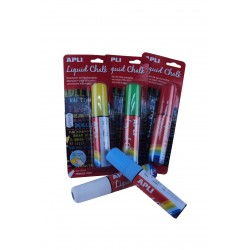 MARKER PEN CHALK LIQUID VARIOUS COLORS