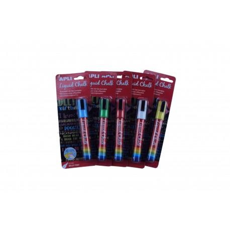 标记笔粉笔液体颜色