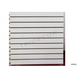 Panel blades, matte white 12 guides 120x120 cm, tridecor