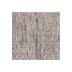 Panel slats oak or, 7 guides. 120x120 cm Tridecor