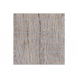 Panell de llistons de roure o, 7 guies. 120x120 cm Tridecor