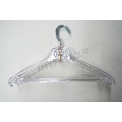 HANGER CHILD TRANSPARENT 31 CM 5 UNITS