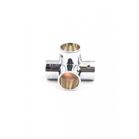 006038 Piezas de unión para tubos de 25 mm 4 salidas en T. Tridecor