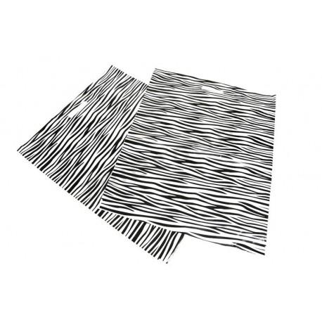 塑料袋模切处理斑马纹50x60CM-100单位