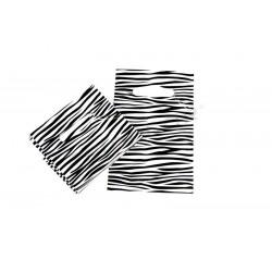 塑料袋模切处理和斑马纹35X45CM100个单位