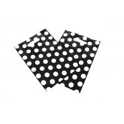 袋圆点黑色的背景25X35厘米100个单位