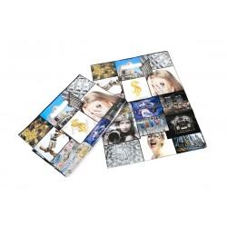 袋中的照片以色模切处理50X60 50厘米的单位