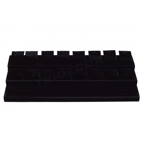 LARGE TRAY FOR JEWELRY, AND BLACK VELVET