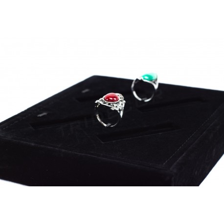 TRAY FOR JEWELRY, AND BLACK VELVET