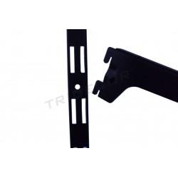 006207 fermeture à Glissière mur-noir 240 cm Tridecor