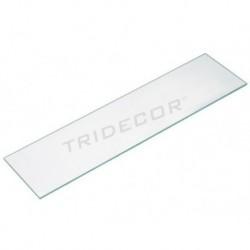 Vidro transparente 120x20cm, 8mm de espessura, tridecor