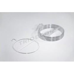 环透明的,用于翻领的10个单位
