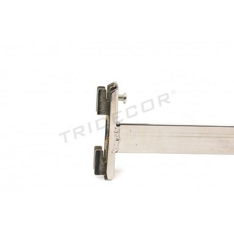 006127 Fijación de cremallera a pared 30 cm. Tridecor