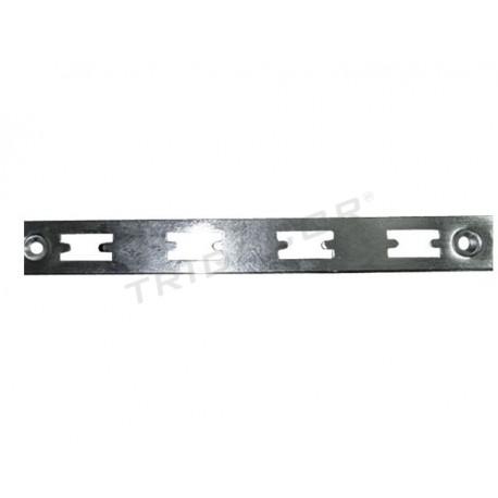 Zip mur est un chrome 240 cm Tridecor