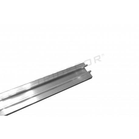 Guía de Aluminio Para Panel de Lamas 120 cm