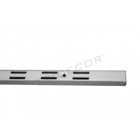 006206 Cremallera pared color blanco 240 cm. Tridecor