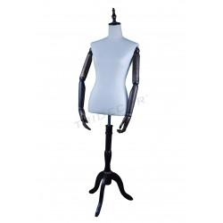 Modelo vintage femenino sin cabeza brazos articulados