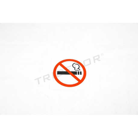 Cartel Prohibido Fumar 11x11cm
