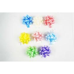 Estrellas adhesivas varios colores 5x5x3cm 100 unidades