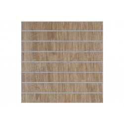 Panel de lama oak clarito 7.5 guias 120x120 cm, tridecor