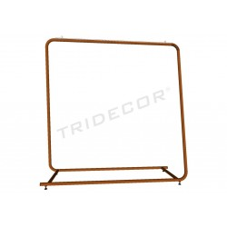 Coat rack large bronze 154x150x50 cm, tridecor