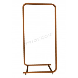 Coat rack small bronze 150x70x50cm