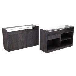 Desk color Oak dark 150 cm, tridecor