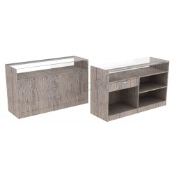 Desk color Oak Or 150 cm, tridecor