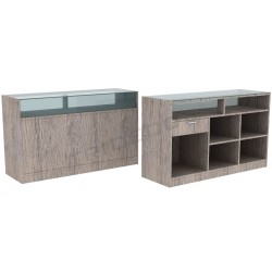 Desk color Oak Or, 180 cm, tridecor