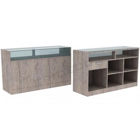 Desk color Oak Or, 180 cm, tridecor