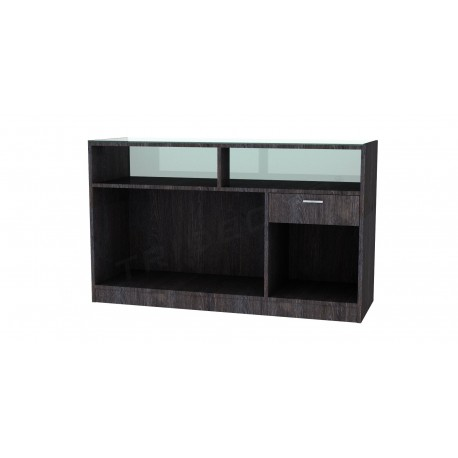 Desk oak dark 150 cm, tridecor