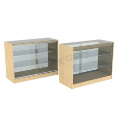 Counter cabinet color birch, 120cm, tridecor