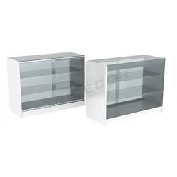 Taulell vitrina de color blanc 120cm