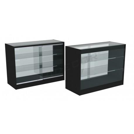 Contatore cabinet di colore nero 120cm
