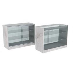 Taulell vitrina, roure color W 120cm