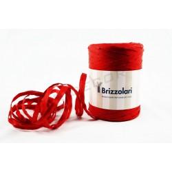Cinta de ráfia sintético vermello 200 metros