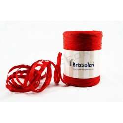 Tape raffia synthetic red 200 metres