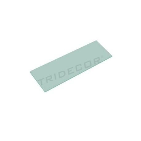 Cristal mate 6mm. 120x30cm, tridecor