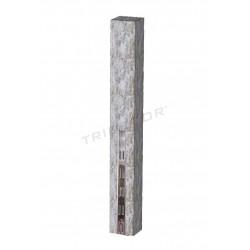Columna de madera harry con cremallera 240 cm