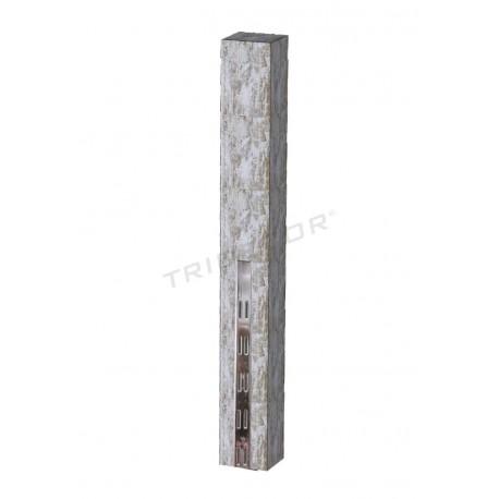 045630 Sistema de cremallera per a les botigues minoristes de fusta harry 240cm Tridecor