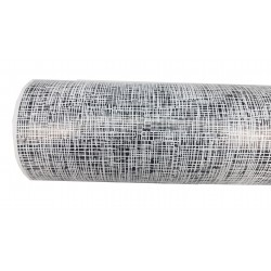 Papel de regalo blanco/negro 62cm