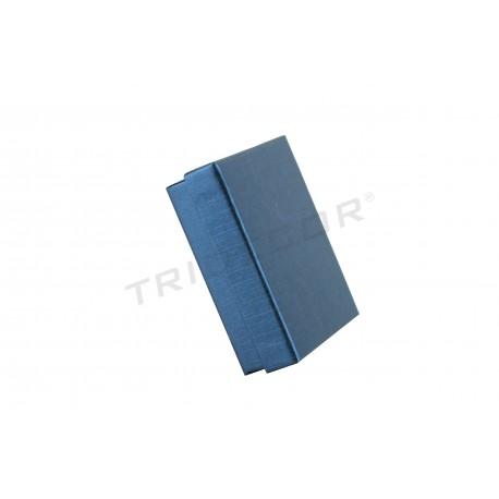 Caixa de joieria de diferents colors 9x7x3cm 18 unitats