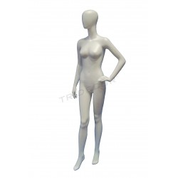 Model female matte white without a face