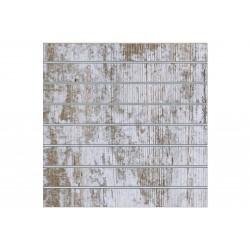 Painel de lamas harry 7 guias 120x120 cm Tridecor