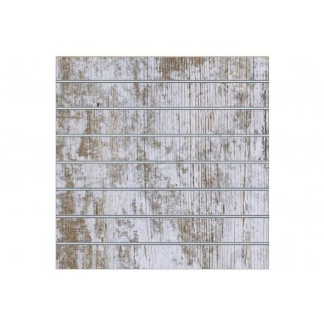 Panel de lamas harry 7 guías 120x120 cm. Tridecor