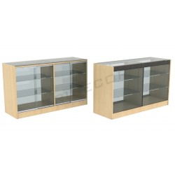 Counter cabinet color birch 150cm