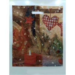 BAG CHRISTMAS 100 UNITS 35X45X5 CM