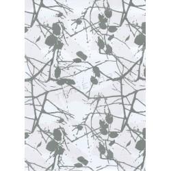 Papel de presente ramos prata 62cm
