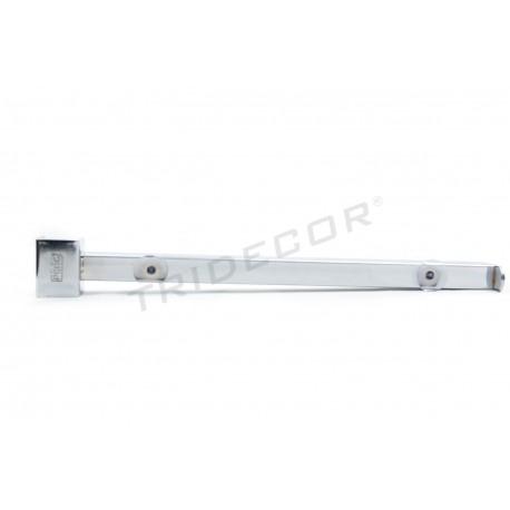 002103 Soporte de estante para tubo cuadrado 35cm